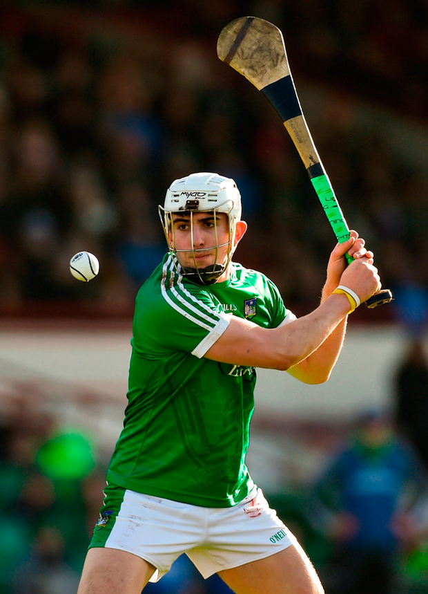 The scoring exploits of Aaron Gillane have been central to Limerick's march to the league semi-final. Photo: Diarmuid Greene/Sportsfile