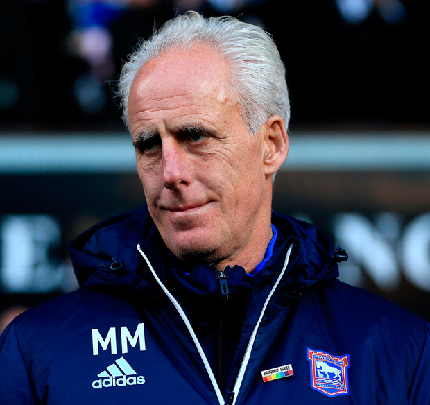 Manager Mick McCarthy will be leaving Ipswich Town. Photo: Stephen Pond/Getty Images