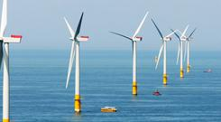 The Galloper wind farm, off the coast of Suffolk, in eastern England, has 56 turbines and is valued at €1.7bn, giving a €228m value to the ESB stake
