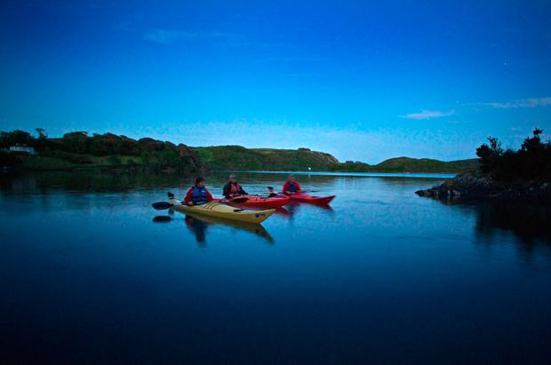 Kayaking on the Wild Atlantic Way