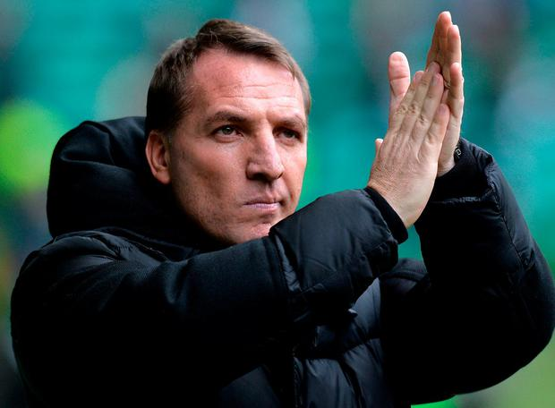 Celtic manager Brendan Rodgers. Photo: Mark Runnacles/Getty Images