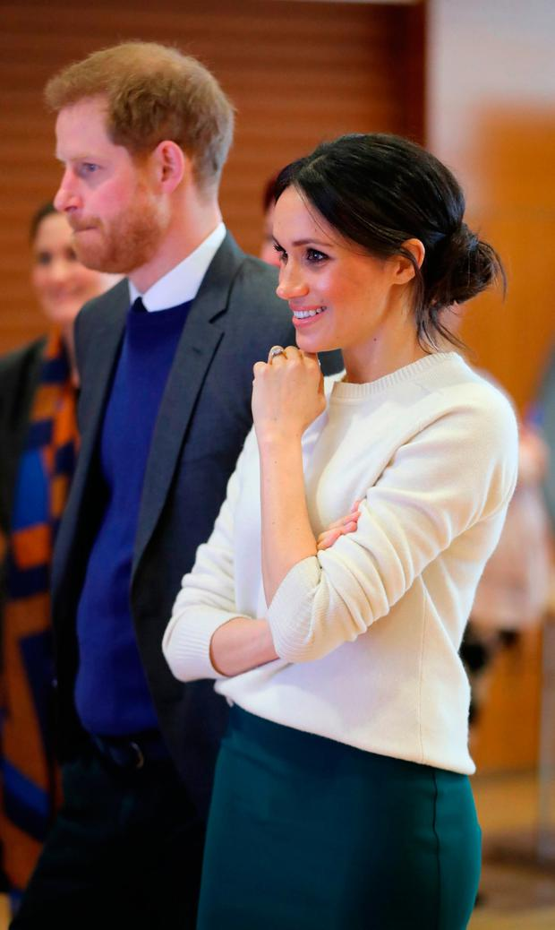 Guests at the wedding of Prince Harry and Meghan Markle will be caught up in a multi-million-pound secutiry operation. Photo: Niall Carson/PA