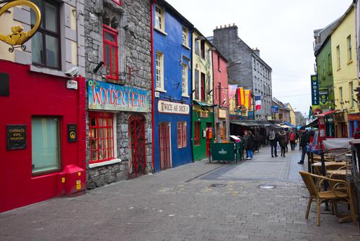 The hotel sector in Galway is booming and it benefits from the annual Galway International Arts Festival and the annual Galway Races jamboree. Stock image