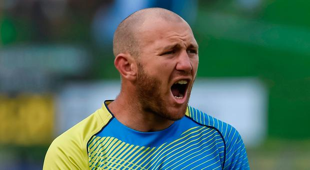 Australia's sevens rugby captain James Stannard, who was to play in the Commonwealth Games, is in hospital with a fractured skull after being punched in an
