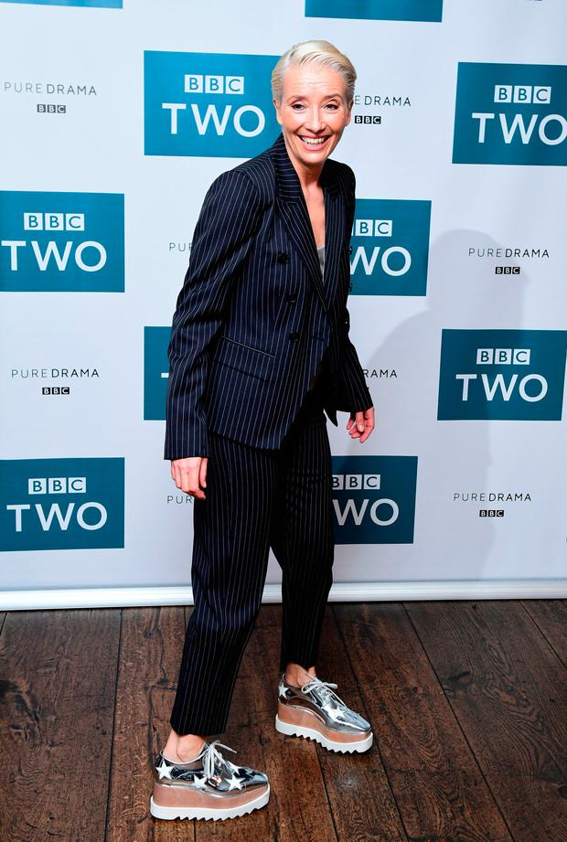 Emma Thompson attending the BBC screening of King Lear held at The Soho Hotel, London. Photo: Ian West/PA Wire