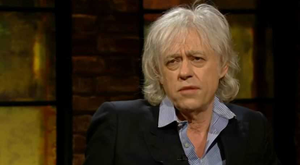 Bob Geldof will appear on tonight's Late Late Show, RTE One.