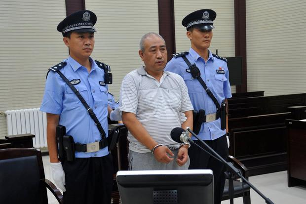 Gao Chengyong attends a trial at the Intermediate People's Court in Baiyin, Gansu province, China July 18, 2017. Picture taken July 18, 2017. REUTERS/Stringer