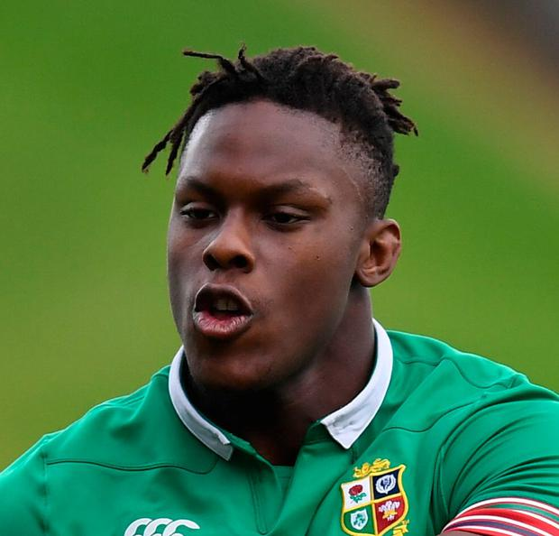 Maro Itoje. Photo: Sportsfile