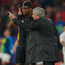 Jose Mourinho and Paul Pogba haven't always seen eye-to-eye this season. Photo: Getty Images