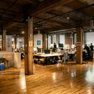 Staff at Intercom's Chicago office