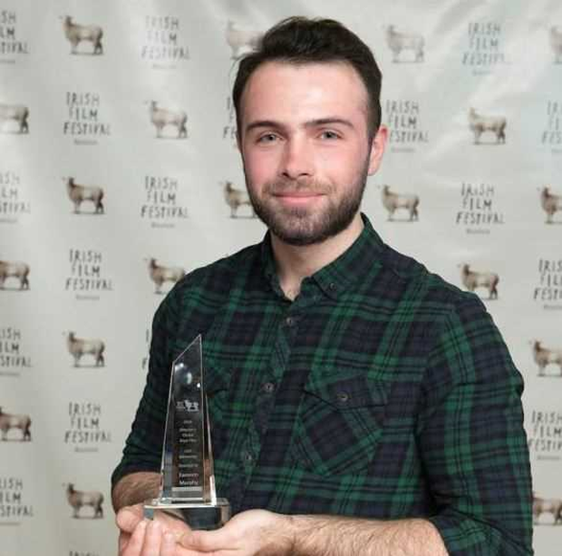 Eamonn Murphy with his Director's Choice Award