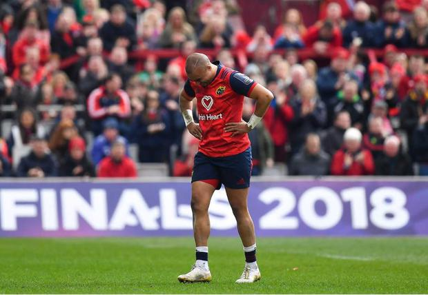 Simon Zebo starts on the bench against Racing