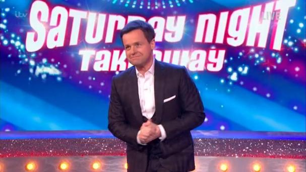 Dec's message to fans as he hosts Saturday Night Takeaway alone