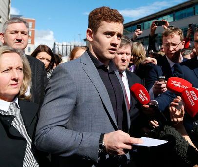 Paddy Jackson Issues Statement To Apologise For WhatsApp Group Chat