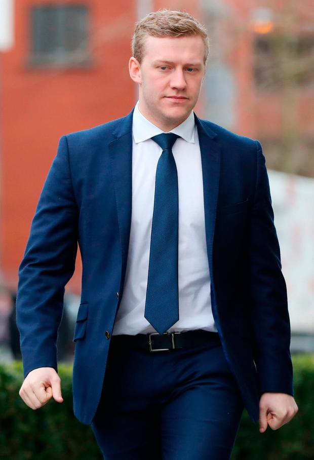 Acquitted of all charges last Wednesday: Stuart Olding