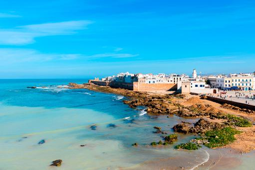 View of Essaouira old city in Morocco