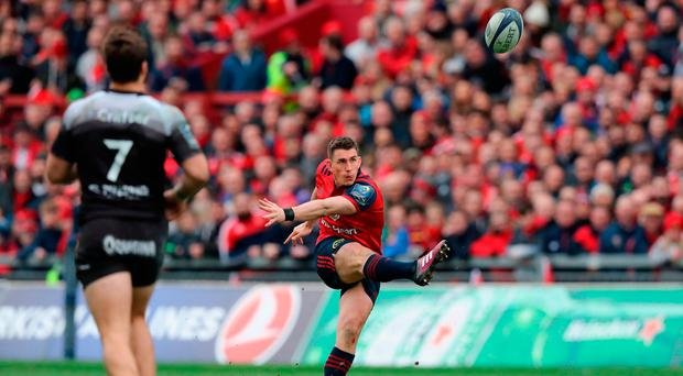'Ian Keatley's rehabilitation is complete. I said a few prayers to Axel every time that Ian stepped up to convert a kick. He was 100pc accurate.' Photo: David Rogers/Getty Images
