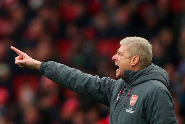 Arsenal manager Arsene Wenger. Photo: Hannah McKay/Reuters
