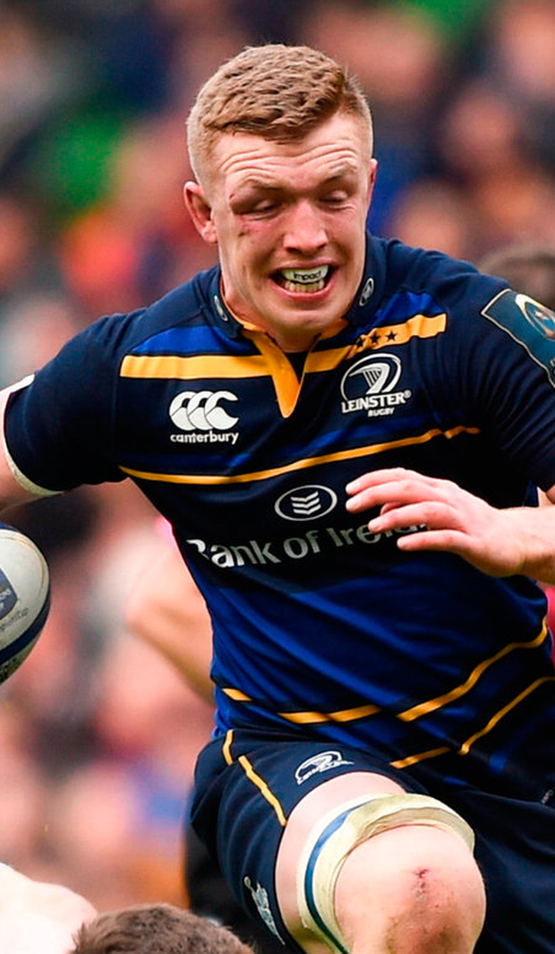 STEPPING UP: Dan Leavy. Photo: Sportsfile