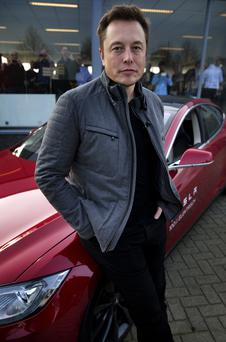 Elon Musk, co-founder and CEO of American electric vehicle manufacturer Tesla Motors. Photo: Getty Images