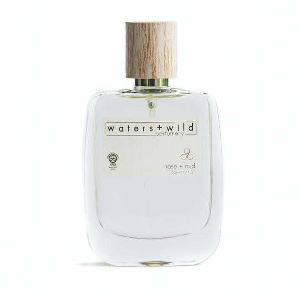 waters + wild rose + oud perfume Rich and deep. Rose petals harvested at dawn when their perfume is at its strongest, combined with rare, exotic and woody oud giving it a mysterious sensual depth. Volume 50ml. €120.00
