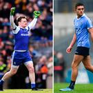 Eoghan Kerin of Galway, Monaghan keeper Rory Beggan and Dublin's Niall Scully