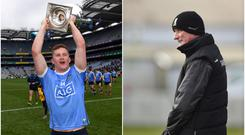 Ciaran Kilkenny (left) and Brian Cody (right).