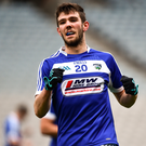 Daniel O'Reilly of Laois during the Allianz Football League Division 4 Final match between Carlow and Laois at Croke Park in Dublin