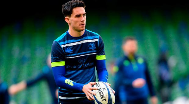 Leinster's Joey Carbery. Photo: Ramsey Cardy/Sportsfile