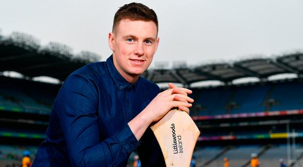 Littlewoods Ireland today launched the GAA Go Games Provincial Days with their ambassadors; former All Ireland Champion with Cork Anna Geary and Waterford hurler Austin Gleeson (pictured). Photo: Sam Barnes/Sportsfile