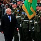 Michael D Higgins is expected to run for the presidency again. Picture: Collins