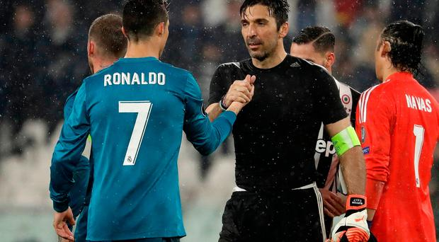 Gianluigi Buffon Compares Cristiano Ronaldo To Diego Maradona And Pele