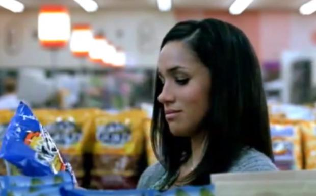 Meghan Markle in a 2009 Tostitos ad
