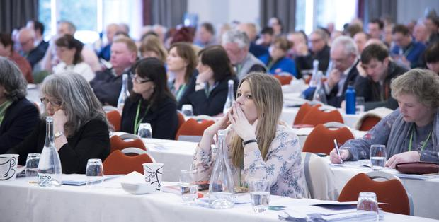 The ASTI Annual Convention 2018, at Clayton Silver Springs Hotel, Cork Picture: Gerard McCarthy