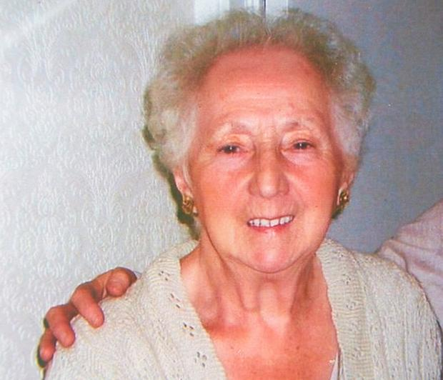 Undated family handout photo issued by Hudgell Solicitors, of Freda Jobson, 87, who received widespread attention after secret recordings of care staff mocking her at an East Yorkshire residential home were made public in 2015. Photo: Family handout/Hudgell Solicitors/PA Wire