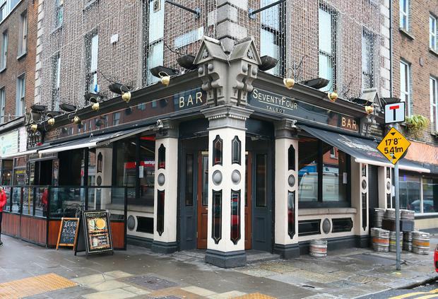 The 44 Talbot pub in Dublin city centre. Photo: Frank McGrath