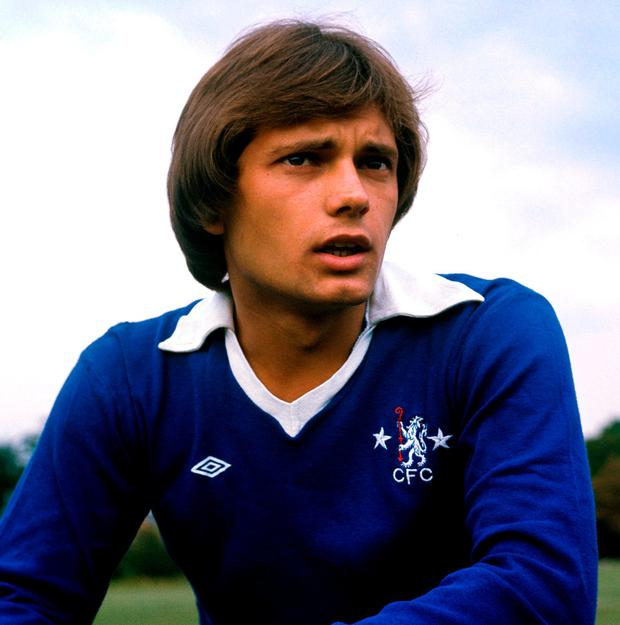 Ray Wilkins during his Chelsea playing days in 1976. Photo: PA Photos/PA Wire.