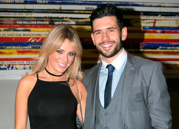 Danielle Byrne and Cian O'Sullivan at a GAA All Stars event recently