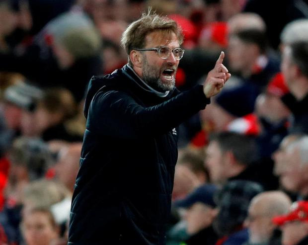 Liverpool manager Juergen Klopp. Photo: Carl Recine/Action Images via Reuters