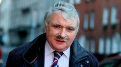Fianna Fáil TD Willie O'Dea played down Mr Cowen's intervention saying it's his view both sides should sit down for discussions on a Budget. Photo: Tom Burke