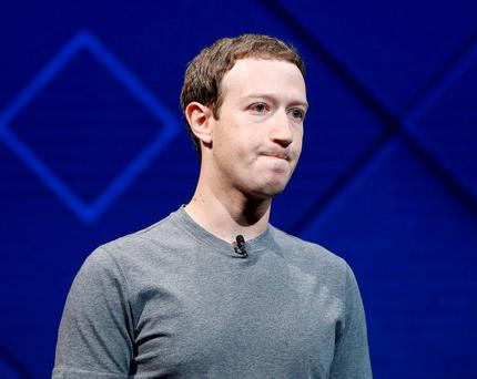 Facebook Founder and CEO Mark Zuckerberg. Photo: Stephen Lam/Reuters