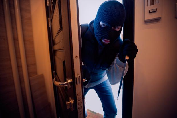 Police said the struggle broke out after the pensioner found two men inside his home in Hither Green, south London, shortly after midnight. Stock image