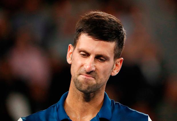 Novak Djokovic's miserable run of form continues Photo: Reuters