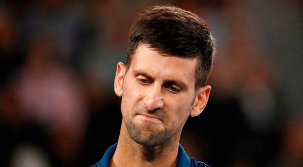 'After Djokovic's twin setbacks in Indian Wells and Miami, where the Serbian did not win a match, it would be easy to forget how sharp he looked in Melbourne at January's Australian Open.' Photo: Reuters