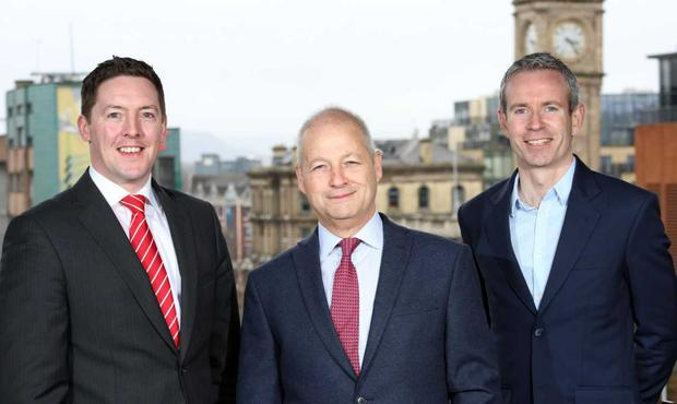 Pictured at the announcement are (L-R): Andrew Gowdy, Senior Portfolio Manager, WhiteRock Capital Partners; Peter Keeling, CEO, Diaceutics; and Clive Lennox, Director of Irish Business Development, Silicon Valley Bank. Credit: Press Eye/Darren Kidd
