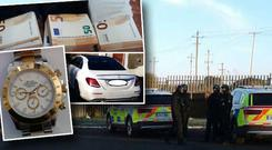 One man has been arrested as the Criminal Assets Bureau (CAB) and a number of Garda national units carried out raids in counties across the country.
