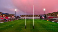 It is believed the photo was taken after a match at Kingspan Stadium.