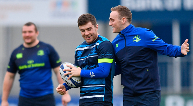 Leinster used scrum-halves Luke McGrath and Nick McCarthy vs Saracens, but don't have a huge amount of depth at the position. Photo by Ramsey Cardy/Sportsfile