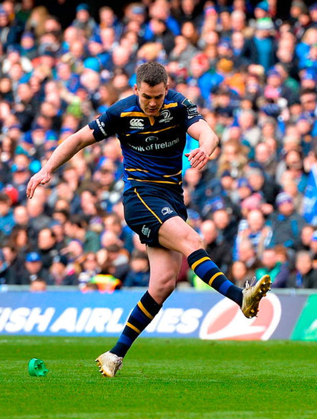 Jonathan Sexton in action for Leinster. Photo: Sportsfile