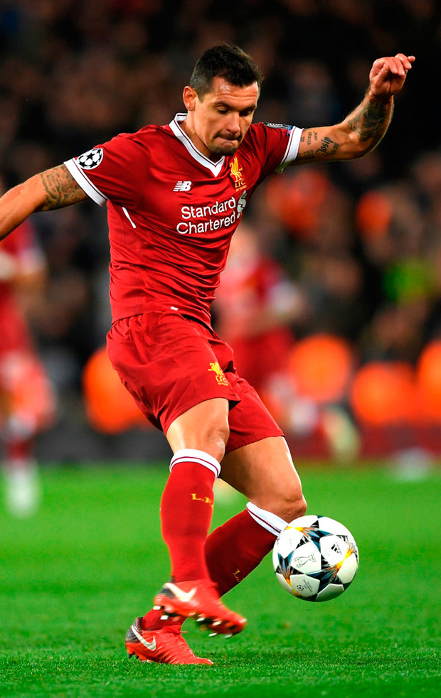 Dejan Lovren of Liverpool. Photo: Getty Images